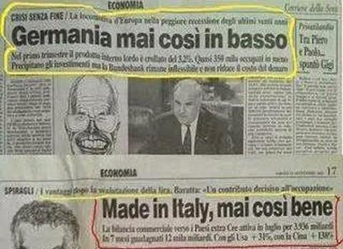 germania italia euro costituzione anni 90