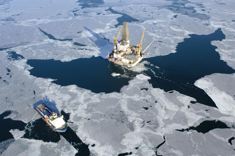 ghiacci artide artico petrolio