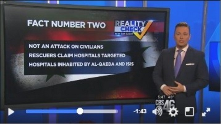 giornalista cbs attacca le bufale dei media sulla siria