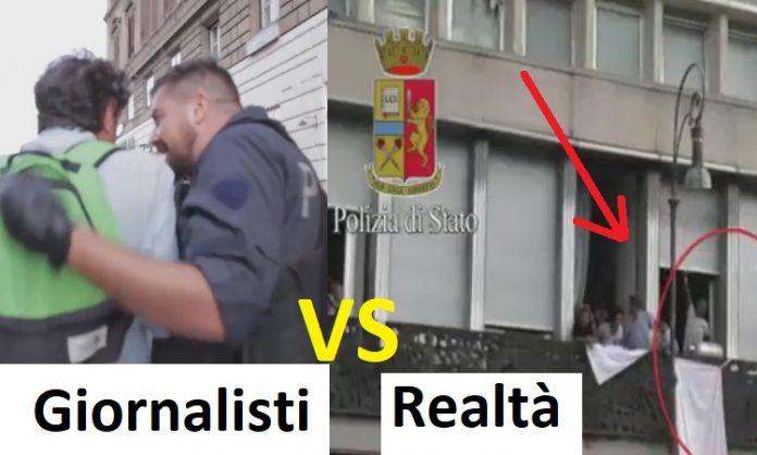 guerriglia roma rifugiati