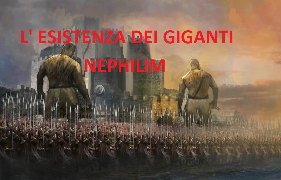 nephilim l'esistenza dei giganti menzionati nelle Bibbia