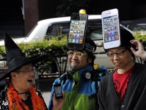 iphone idiota smartphone