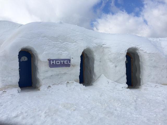 igloo riscaldati - perchè dentro gli igloo fa caldo