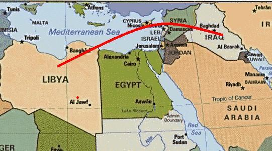 isis Iraq Siria Libia
