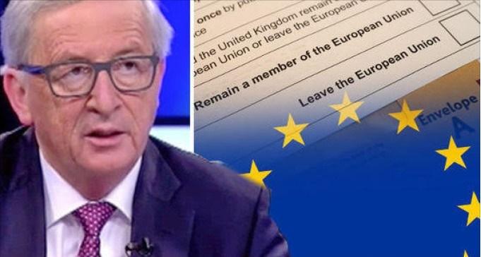 juncker referendum euro