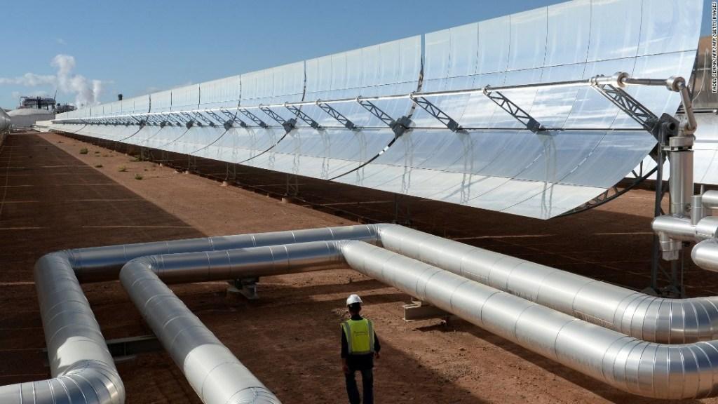 la più grande centrale energia solare al mondo marocco 2