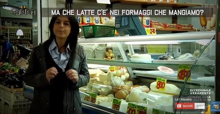 latte nei formaggi che mangiamo