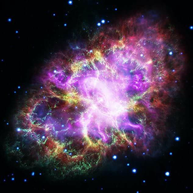 le foto più spettacolari del telescopio spaziale Hubble nebulosa del granchio