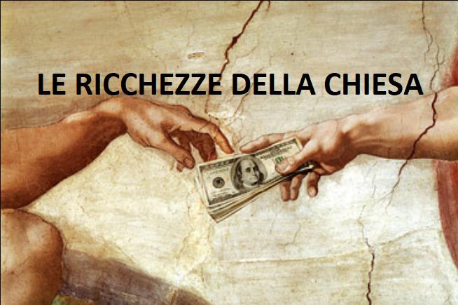 le ricchezze della chiesa cattolica
