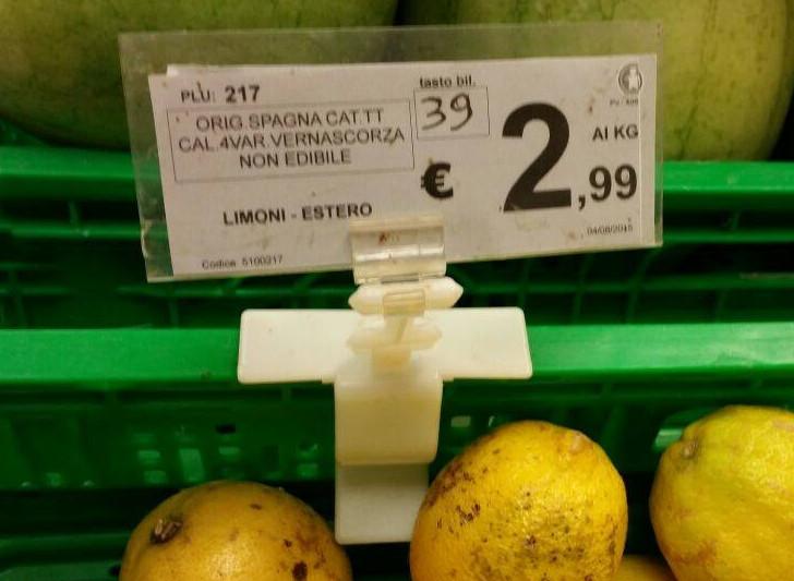 limoni siciliani spariti supermercati