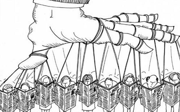 manipolare l'opinione pubblica tattiche
