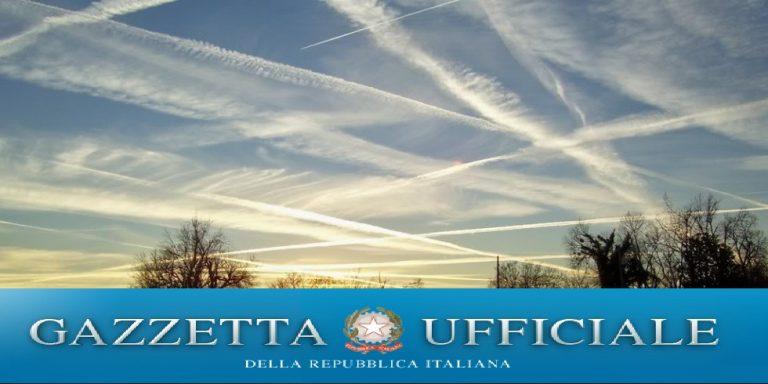 manipolazione climatica in Italia la legge 5 gennaio 1994