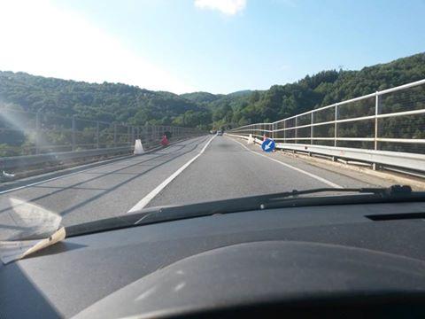 manto stradale ponte viadotto cannavino