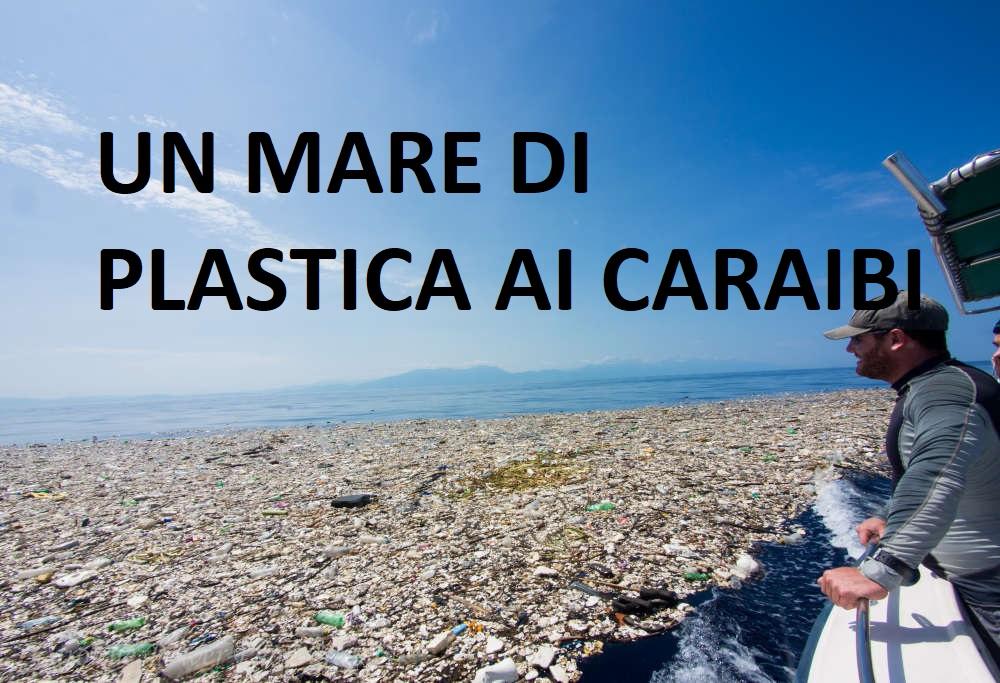 mar dei caraibi plastica
