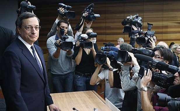 mario draghi quantitative easing  europa