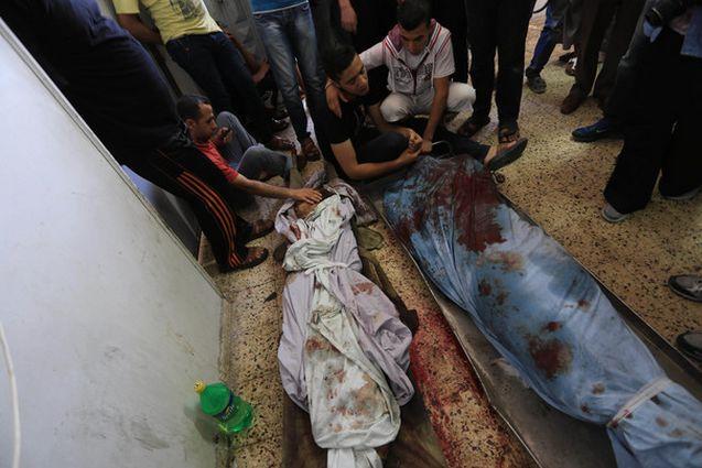 massacro gaza