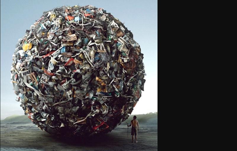 mondo destinato ad essere sommerso dai rifiuti