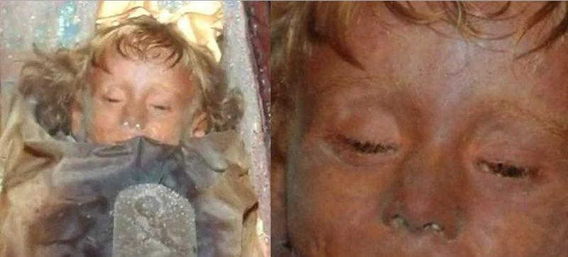 mummia bambina palermo