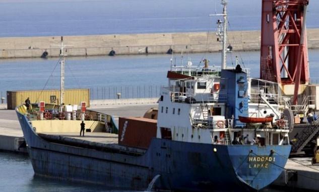 nave turca intercettata