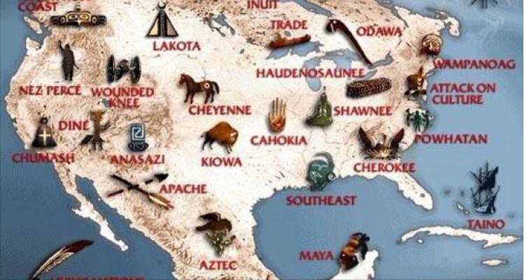 olocausto dimenticato nativi americani