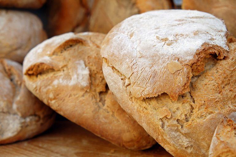 pagnotte di pane prezzo alto