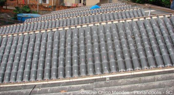 pannello_solare_termico bottiglie di plastica