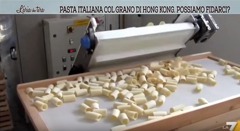 pasta prodotta col grano di Hong Kong