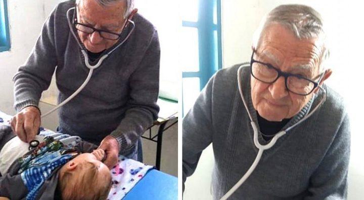 pediatra 92enne visita gratis bambini