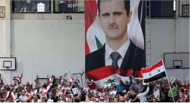 popolo Siria Assad