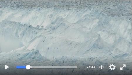 scioglimento dei ghiacciai in antartide polo nord