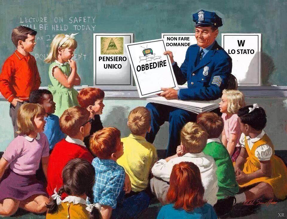 scuole centro di indottrinamento