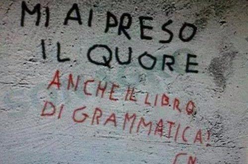 scuola studenti scrivono male italiano