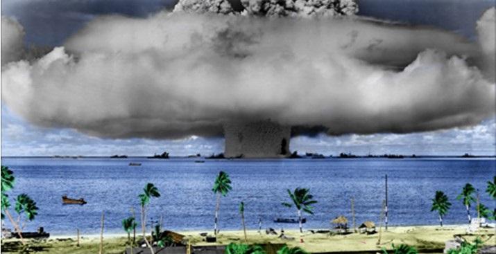 I test atomici di Francia ed USA che hanno sempre cercato di insabbiare