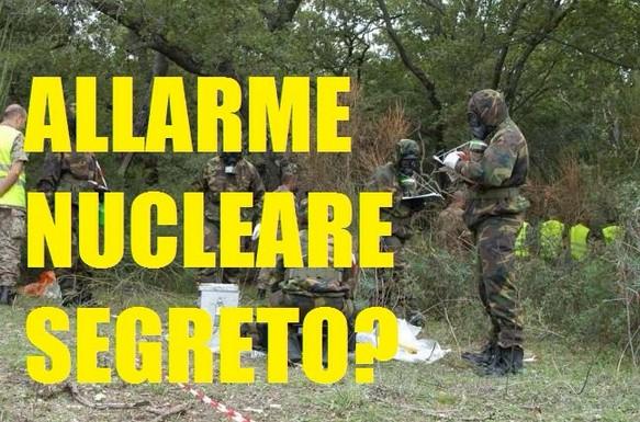 teulada sardegna allarme nucleare segreto