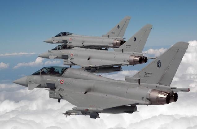 tornado italiani contro l' isis