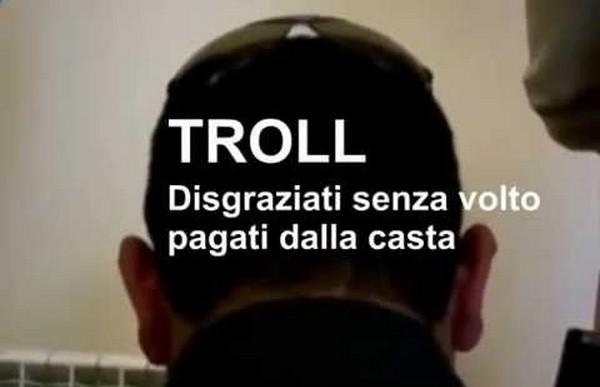 troll pagati dalla casta