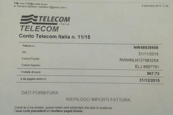 truffa telecom