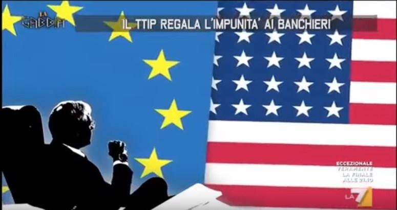 ttip Usa minaccia Europa la gabbia