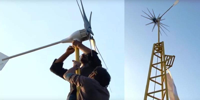 Per il costo di un iPhone, è possibile acquistare una turbina eolica che può alimentare una casa