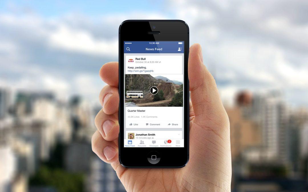 video facebook riproduzione automatica