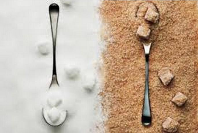 zucchero raffinato e zucchero di canna grezzo